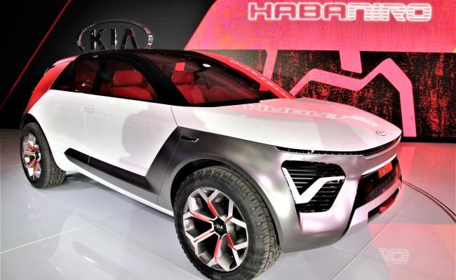 Kia v New Yorku s konceptnim vozilom Habaniro
