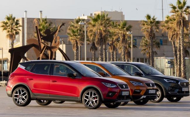 SEAT-ovi trije SUV modeli prvič skupaj na cesti