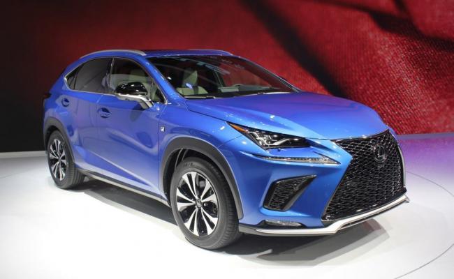 V Shanghaju predstavljen »prenovljeni« Lexus NX