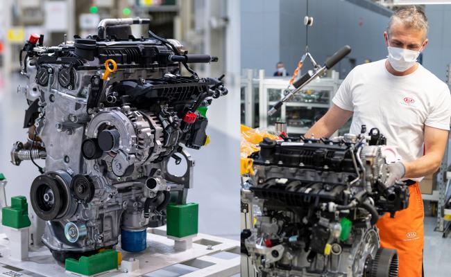 Ceed z novimi bencinskimi motorji in blagimi hibridi