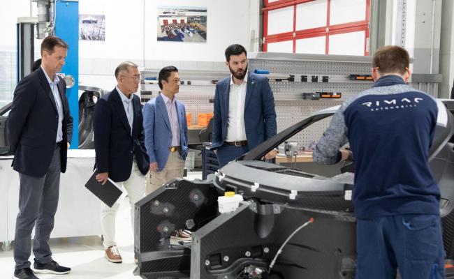 Kia in Hyundai bosta z Rimcem razvijala visokozmogljiva električna vozila