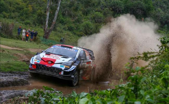 Ekipa Toyota Gazoo racing je na reliju Safari v Keniji osvojila prvi dve mesti