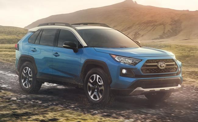 Nova Toyota RAV4 (2019)