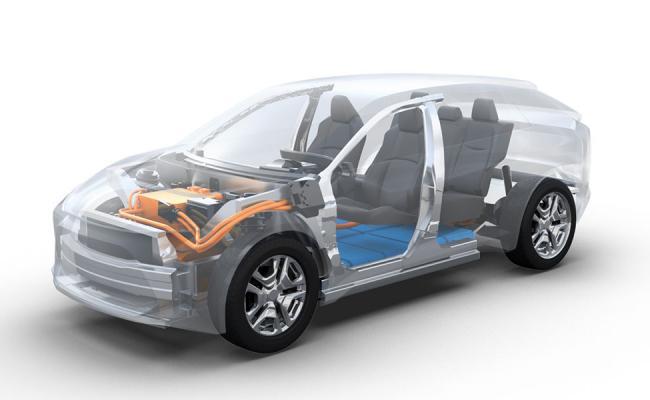 Novi baterijsko-električni Toyota športni terenec